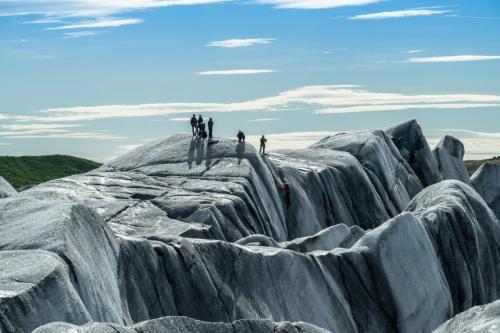 Svinafelljokul Glaciar, Iceland