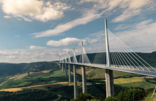 Millau Bridge from Norman Foster, France